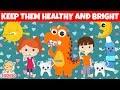 Brush Your Teeth | HiDino Kids Songs