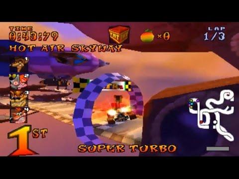 Atajos Crash Team Racing