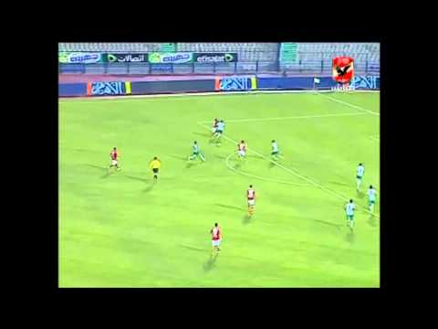أهداف مباراة الأهلى والانتاج الحربى