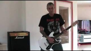 The Ramones -Locket Love (guitar cover)