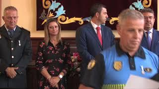 Acto de imposición de medallas al mérito a los funcionarios de la Policía Local - Los Realejos