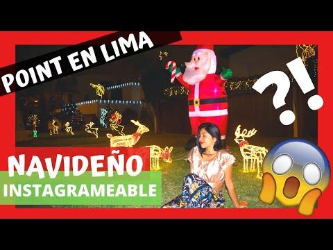 El Distrito Más Decorado De #LIMA / ESPECIAL NAVIDEÑO (point #instagrameable En Surco)
