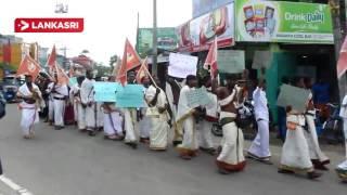 Kurukkal Protest At Batticaloa