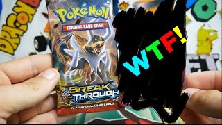 OPENING THE GREATEST SINGLE BREAKTHROUGH BOOSTER PACK EVER!!!