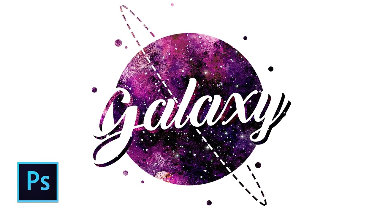 Desain Indonesia Cara Desain Typography Galaxy Galaxy Design Photoshop Photoshop Tutorial Indonesia