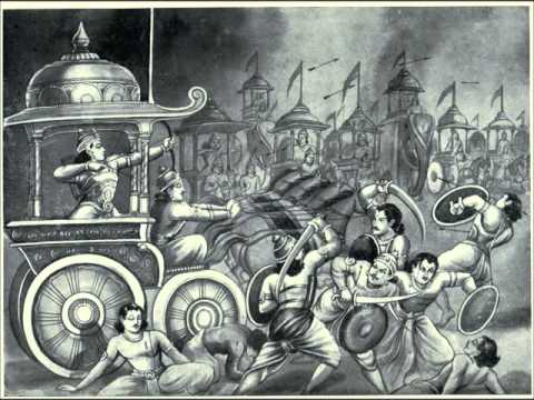 MAHABHARATA CHAPTER 80 THE DEATH OF ABHIMANYU