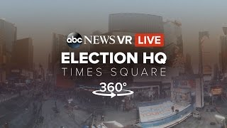 LIVE 360 View: Times Square on 2016 Election Night #360Video | ABC News
