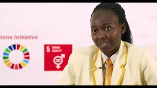 Spotlight Initiative - #GirlsTakeoverZW, Elinah Moyo as the Head of UNDP.