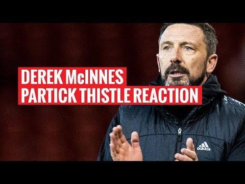 Aberdeen 1-0 Partick Thistle | Derek McInnes