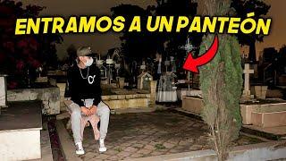 ENTRAMOS DE NOCHE A UN PANTEON Y ASI SALIMOS.. | ManuelRivera11