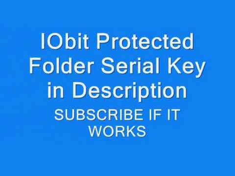 IObit Protected Folder 4.3.0.50 With Serial Key