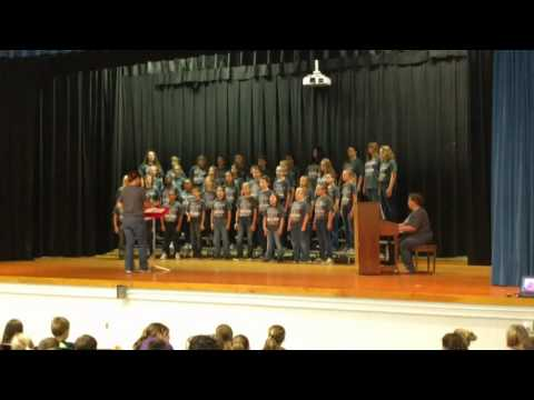 Rolla Middle School Acceptance Day, Honor Choir 10/14/2016