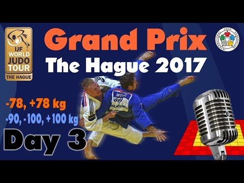 Judo Grand-Prix The Hague 2017: Day 3