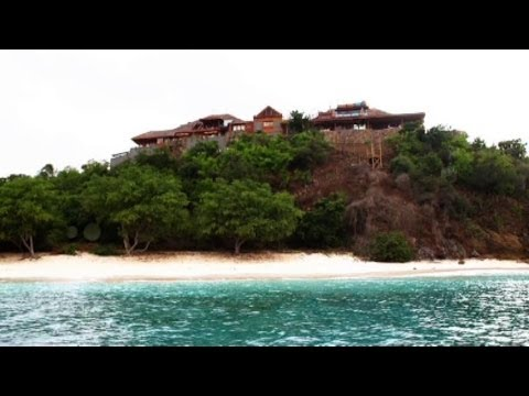 Richard Branson's $17M Necker Island Rebuild: Exclusive Tour