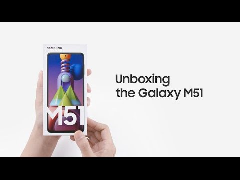 Galaxy M51: Official Unboxing | Samsung