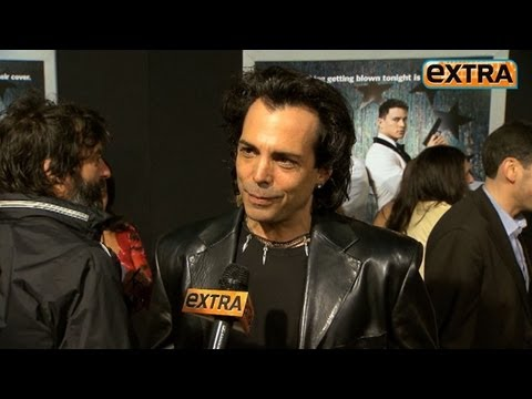 """Extra"" Talks with Richard Grieco at the '21 Jump Street' Premiere"