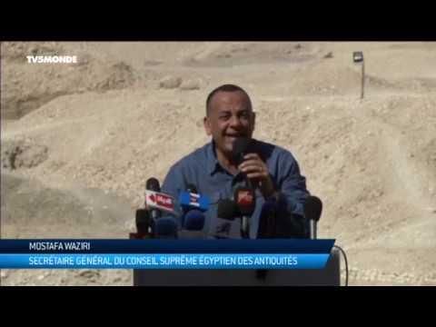 Découvertes archéologiques à Louxor en Egypte : tombeaux, sarcophages de plus de 3500 ans
