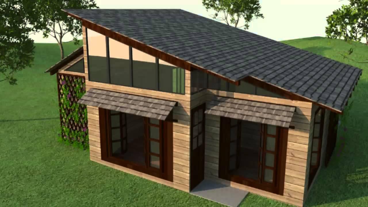 Casa campestre dise o arquitectonico 3d youtube - Diseno de casas 3d ...
