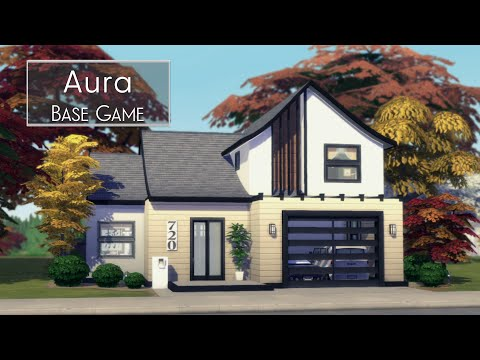 Aura • Base Game + Gallery Art | Giveaway| NOCC | The Sims 4 | Stop Motion