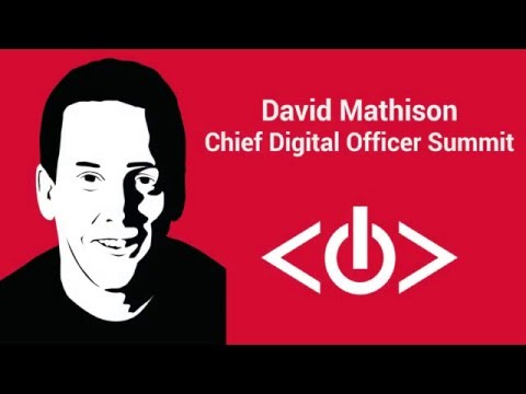 David Mathison: What is a Chief Digital Officer?