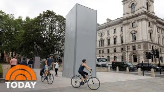 Statue Of Winston Churchill Boarded Up As Protests Call For Its Removal | TODAY