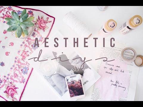 Aesthetic DIYs