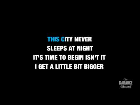 "It's TIme in the Style of ""Imagine Dragons"" karaoke video with lyrics (no lead vocal)"