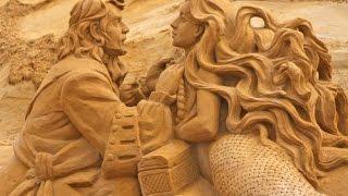 The Sandsculpture STARS Festival | Ostend Beach