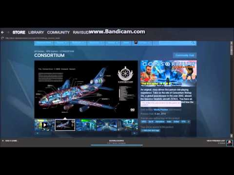 HOW TO GET A FREE STEAM GAME (CONSORTIUM) (ended)