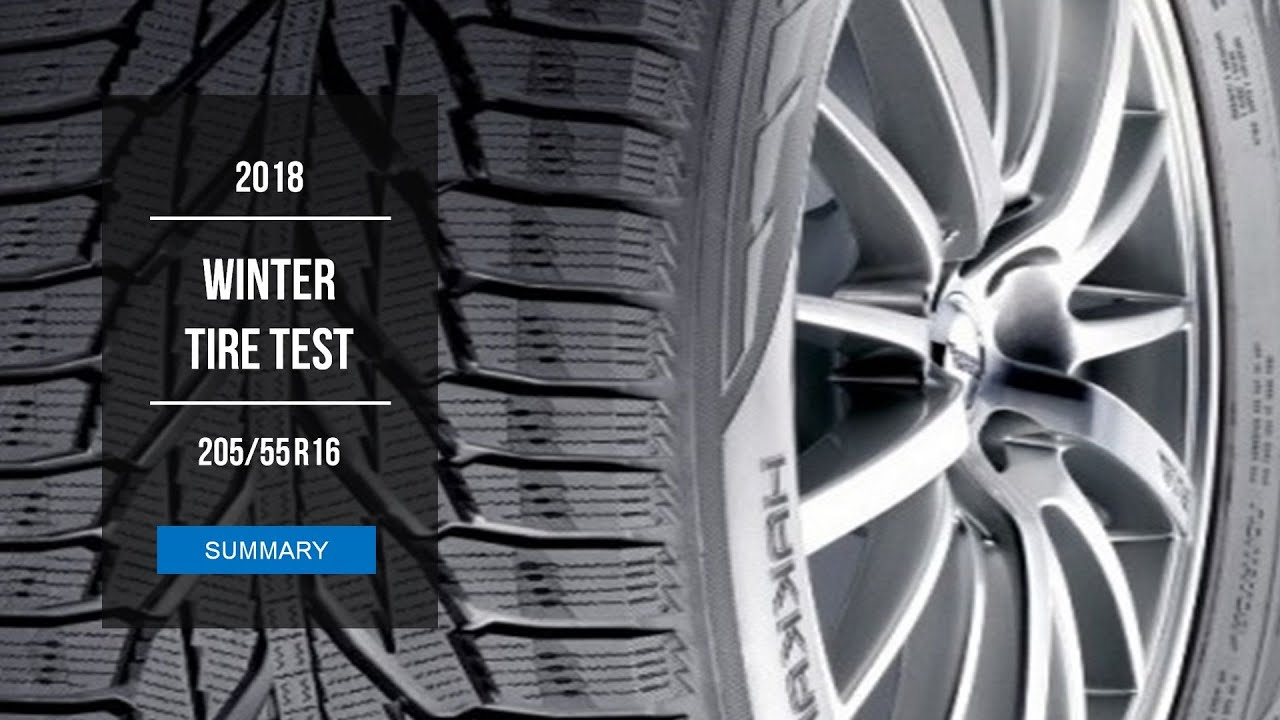 2018 winter tire test results 205 55 r16 youtube. Black Bedroom Furniture Sets. Home Design Ideas