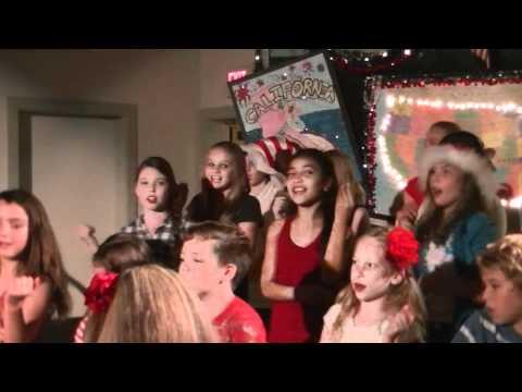 December around the World - Hualalai Academy Dec 2011