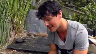 Dan The Healthy Cook- Butterflied Oven Baked Prawns