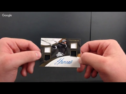 2017 Immaculate collection Baseball Break #2 HOODY'S