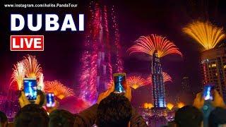LIVE New Year's Eve 2019 • Dubai Fireworks 2019 • Happy New Year 2019 • fireworks