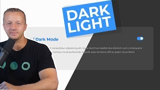 Creating a Dark & Light Toggle Mode on your UI Designs