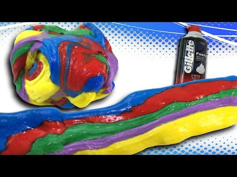 how to make shaving cream slime