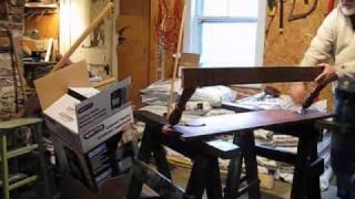Making A Shelf Out Of A Scrap Head-board