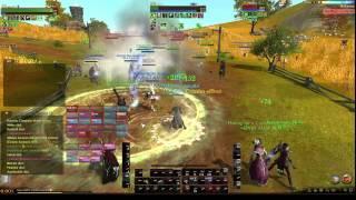 Halcyona Tree farm and War - server nebe Archeage part 1