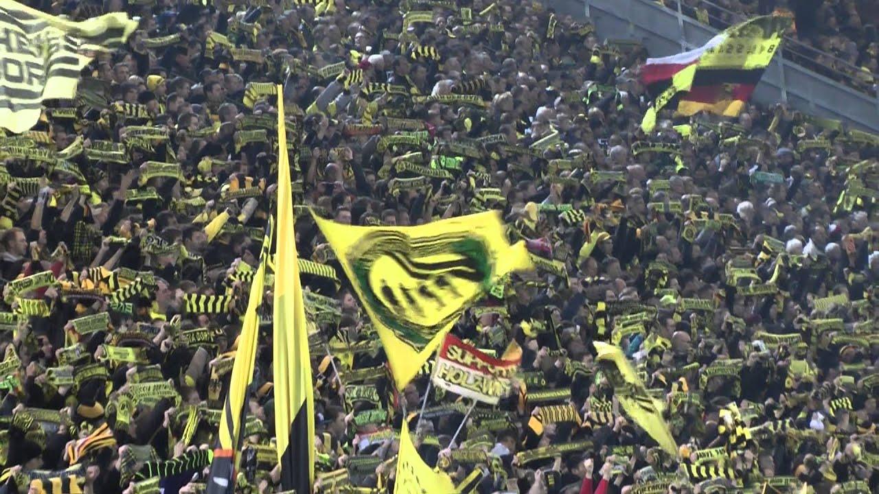 Leuchte auf mein Stern Borussia BVB - Fürth 3-1 Stimmung Südtribüne