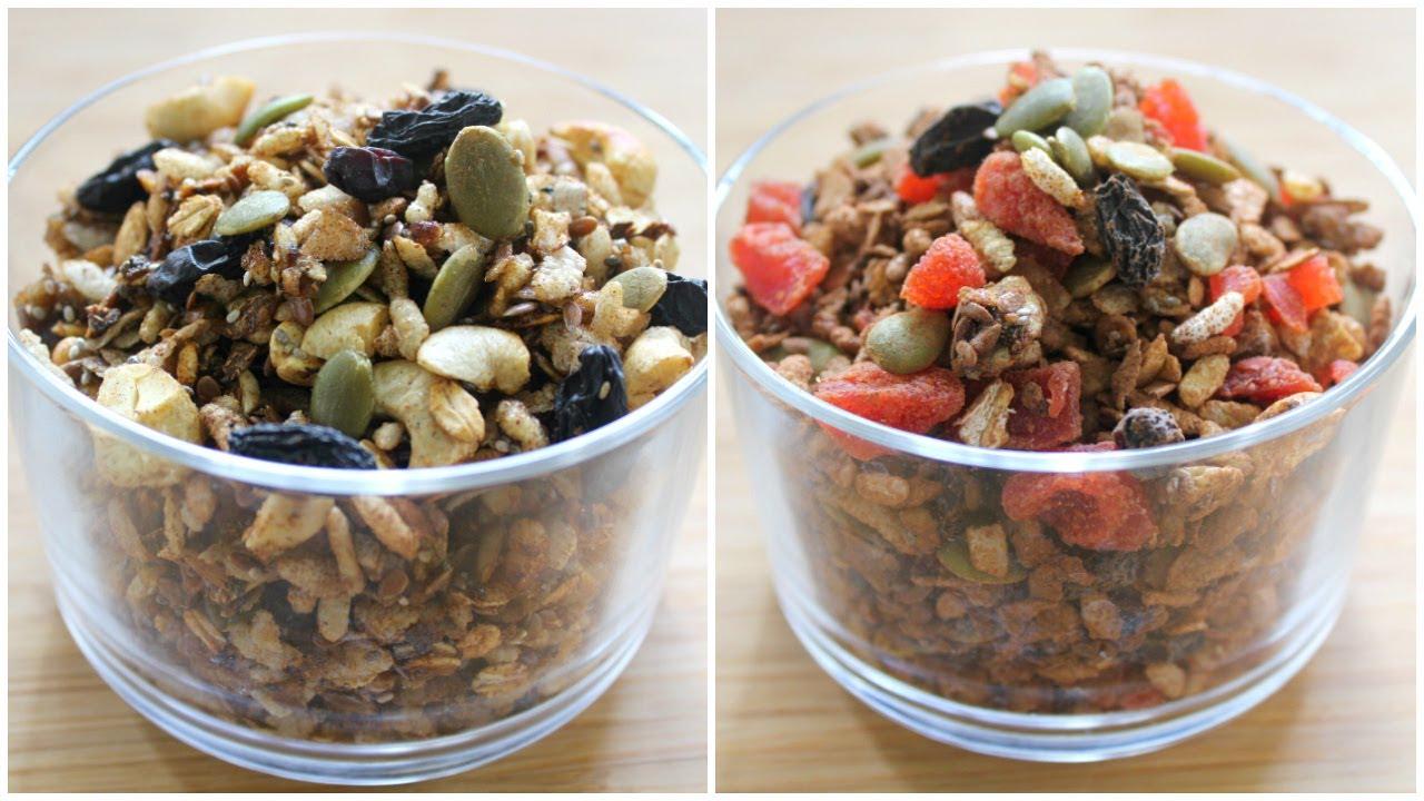 Oil free stovetop granola recipe 2 ways healthy oats recipe oil free stovetop granola recipe 2 ways healthy oats recipe for weight loss skinny recipes forumfinder Gallery