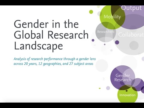Elsevier Gender Report: Gender in the Global Research Landscape
