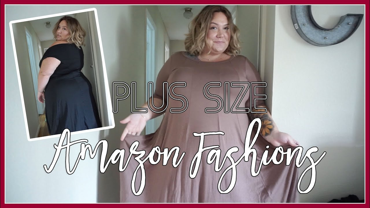 5523a9ff2aff Plus Size Amazon Clothing Haul and Review - YouTube