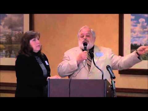 Jim JoAnne Moriarty in Dallas at the John Birch Society May 2014