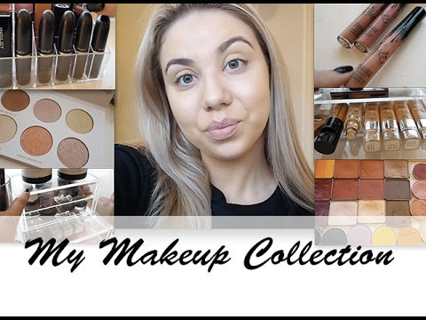 MY MAKEUP COLLECTION 2017 |  Penneys/Primark | Makeup Geek eyeshadows || Emma Louise Doyle