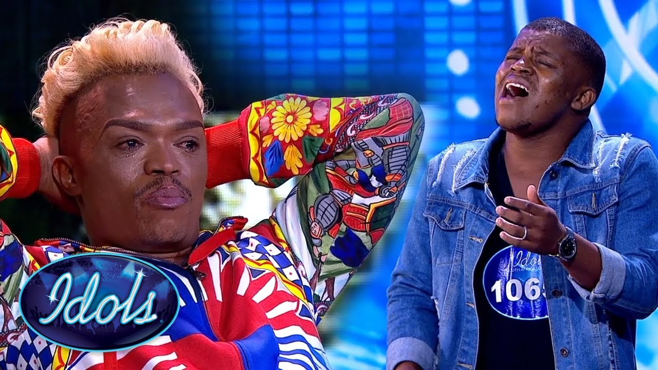 EMOTIONAL Audition Brings Idol South Africa Judge To TEARS   Idols Global