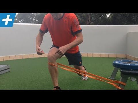 Powerband lateral resistance for hip and knee stability | Feat. Tim Keeley | No.29 | Physio REHAB