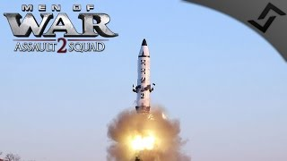 Russian FoB Takeover & Missile Launch! - Men of War: Assault Squad 2 - Wigga's CoD:MW Mod