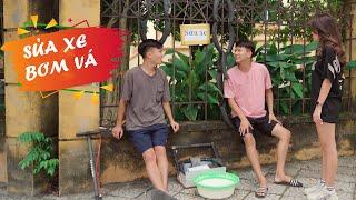 SỬA XE BƠM VÁ | Đại Học Du Ký - Phần 61 | Phim Ngắn Siêu Hài Hước Sinh Viên Hay Nhất Gãy TV