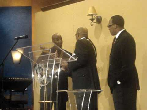 Harvest Service at FMT Apostle Darryl McCoy and Son on Guitar - YouTube