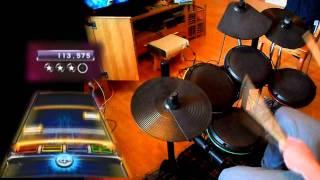 [Legend] Rock Band 3 DLC - My Last Words by Megadeth 100% FC Expert Drums!!!